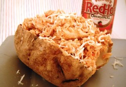 Buffalo Chicken Baked Potato